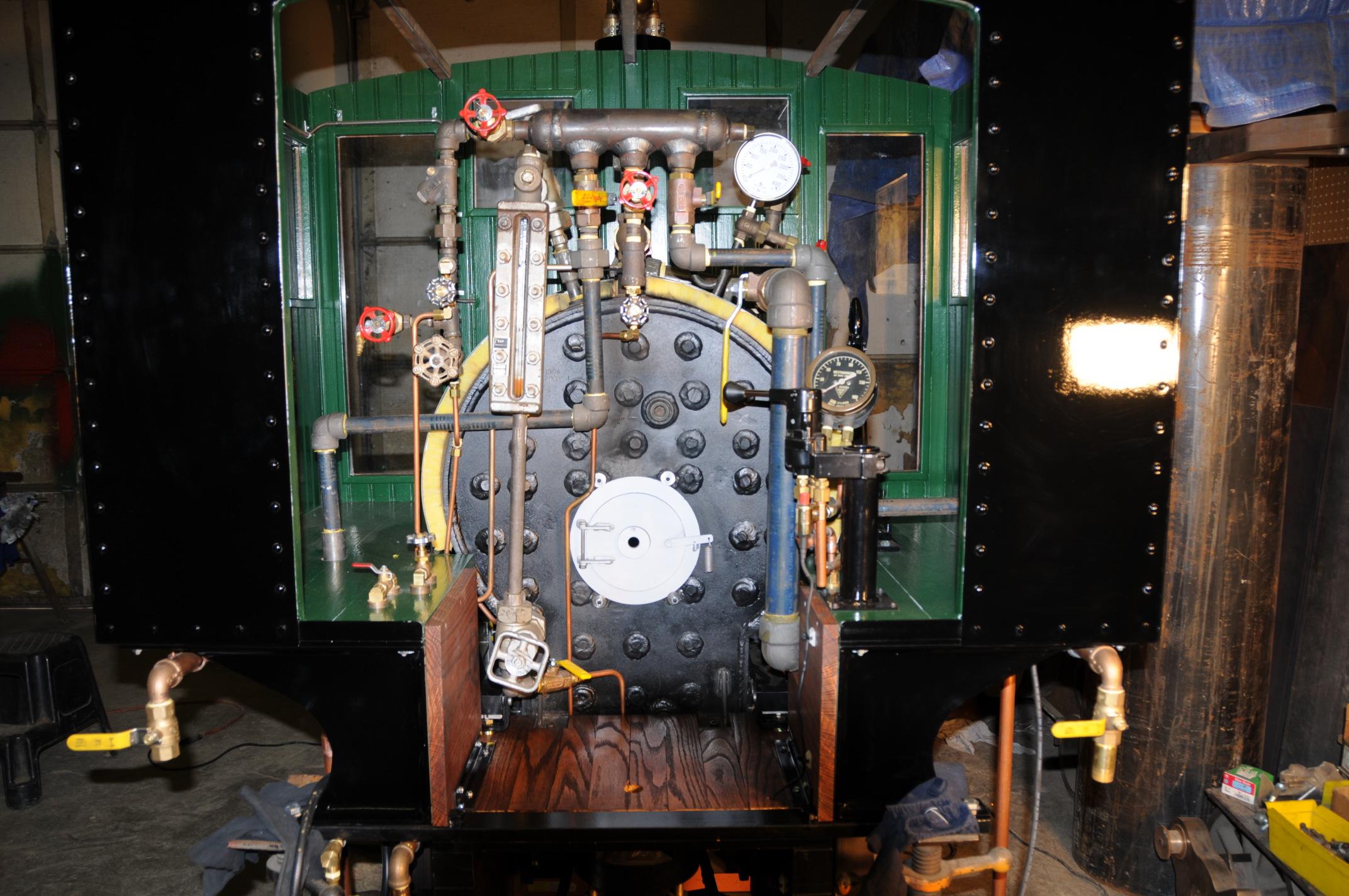ASME, Mammoth Locomotive Works, John Braun, S Stamp, pressure vessels, certified boilers, power boilers, National Board, code shop, Mammoth Locomotive Works, code boilers, BPV 1, Subgroup on Locomotive Boilers, BPV Committee on Power Boilers (I), ASME BPVC, ASME Boiler and Pressure Vessel Code, ASME Certification Mark